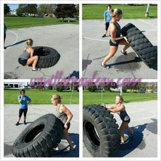 -outdoor gym- Fitness Chicks and Tire Flips - Vanilla Bean LeanVanilla Bean Lean