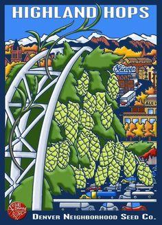 Kenny Be's Denver Seed Co. artwork