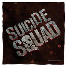 Suicide Squad Logo Bandana
