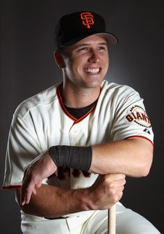 My favorite Giant of late - Buster Posey, SF Giants Catcher Baseball League, Baseball Players, Fsu Baseball, Football, Buster Posey Wife, Giants Players, San Francisco Giants Baseball, My Giants, Giants Team