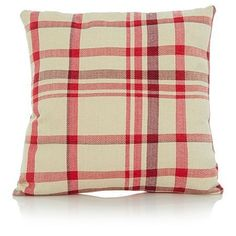 Luxury Cotton Woven Checked 50 x 50cm Cushion - Red Verdi http://www.amazon.co.uk/dp/B00S2V8GR8/ref=cm_sw_r_pi_dp_FhEpwb13KPANB