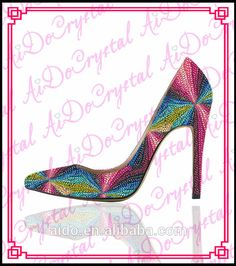 9845a374df77f comfortable sexy crystal shoes