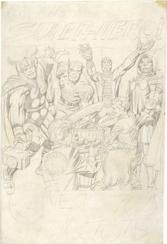 Toys for Tots, Poster, Unpublished Version - Jack Kirby