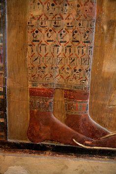Le Louvre : Pared tumba Seti I / Mur tombe Sethi I / Wall of the Seti I 's Tomb   Flickr - Photo Sharing!