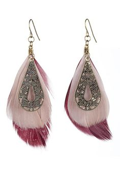 #feather #earrings