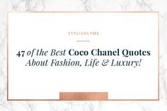 These are the best Coco Chanel quotes - these Chanel quotes address with how we look, how we take care of ourselves & of course fashion! What Is Business Casual, Business Casual Outfits, Kate Spade Quotes, Coco Chanel Quotes, Luxury Lifestyle Fashion, Ootd, Its Friday Quotes, Lifestyle Quotes, Beach Quotes