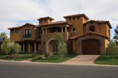 tuscan inspired home