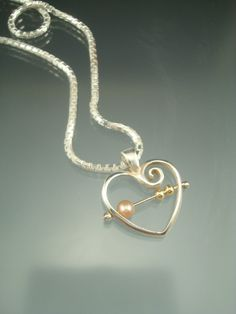 The pearl represents the child and the small beads represent each family- the birth and adopting! They move independently but are joined forever by something miraculous. Sterling Silver Chains, 925 Silver, Jewelry Gifts, Jewelry Box, Adoption Gifts, Gold Beads, Jewelry Design, Pendants, Pendant Necklace