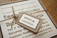 Wedding invitiations - who to invite and who not to invite - MMC Photography