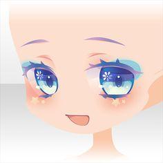 Manga Hair, Manga Eyes, Anime Eyes, Chibi Eyes, Cocoppa Play, Doll Repaint, Drawing Skills, Anime Sketch, Pretty And Cute