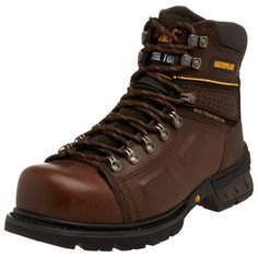 Amazing offer on Caterpillar Men's Endure Super Duty 6 Steel Lace To Toe Boot online - Topoffergoods Caterpillar Shoes, Trail Shoes, Brown Bags, Hiking Boots, Hiking Gear, Shopper Bag, Boots Online, Steel Toe, Men S Shoes