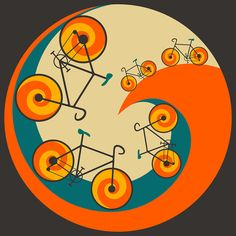 Want To Ride My Bicycle    Digital Art By Jazzberry Blue
