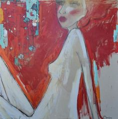 Manyung Gallery Group Monica Adams I See Red I See Red, Melbourne Australia, All Art, Contemporary Art, Art Gallery, Group, Illustration, Artwork, Pictures