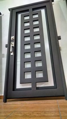 all type door design Metal Gates, Iron Gates, Iron Doors, Door Grill, Door Gate Design, Modern Front Door, Grill Design, Iron Furniture, Steel Doors