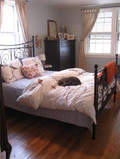 I have the same Ikea bed frame.