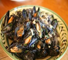 Lidia's Italy: Recipes: Steamed Mussels Trieste Style