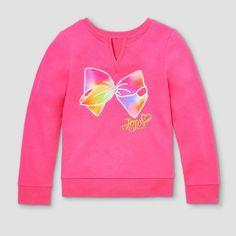 Girls  Jojo Sweatshirt - Freestyle by Danskin Jojo Pink dc3bb7984