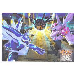 Pokemon Center 2008 Diamond & Pearl Dialga Palkia Giratina Authentic Postcard
