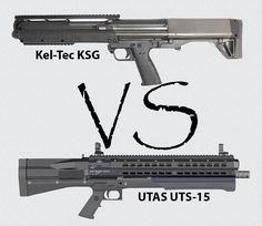 Kel-Tec KSG vs. UTAS UTS-15 - USA Carry