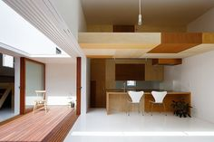 Idokoro Residence by mA-style Architects
