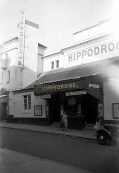 The Brighton Hippodrome during the run of Can-Can on the of September 1956 - Courtesy Gerry Atkins Brighton Rock, Brighton Charms, Brighton England, Brighton And Hove, Abandoned Castles, Abandoned Mansions, Abandoned Houses, Abandoned Places, Old Pictures