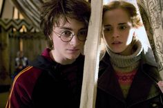HARRY POTTER AND THE GOBLET OF FIRE, Daniel Radcliffe, Emma Watson, 2005, (c) Warner Brothers