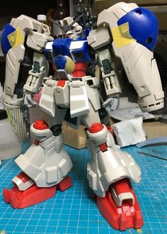 Back then this was one of my favourite Gundam out there, yes its bulky yet its marvelous this is MG Physalis by sary . Super Robot, Gundam Model, Mobile Suit, Modeling, My Favorite Things, Tech, Modeling Photography, Models, Technology