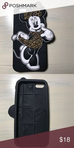 I Phone Case Rubber Disney Minnie Mouse IPhone 6 Case Disney Accessories Phone Cases