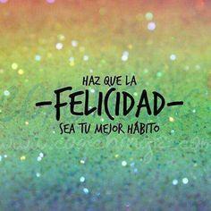 FELICIDAD que bonito nombre tienes!😃 Buenos días ☀️☀️ #happiness #felicidad #enjoy #enjoyeverymoment #disfruta #vive #viveelmomento #carpediem #happyday #felizdia #sefeliz #SIEMPRE