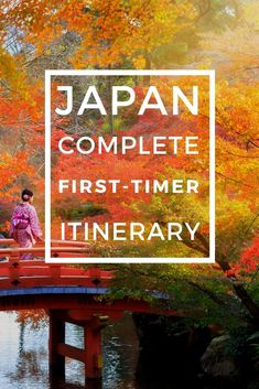 This first timer's Japan itinerary is perfect for your first visit to this incredible country. Discover the amazing things to do, food to eat, and places to visit in Japan in this complete guide. #Japan #Itinerary #Tokyo #Kyoto #Miyajima #Hiroshima #Japanese