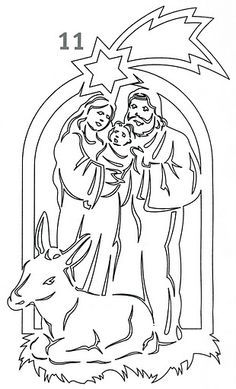 holy family christmas