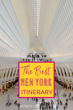 New York City is packed with iconic attractions and a long list of must-see sights. Trying to plan a New York City One-Week Itinerary can be a daunting task – but no need to worry: we've done the hard work for you! Our 7 days in New York Itinerary includes all the major highlights and a few hidden gems. Usa Travel Guide, Budget Travel, Travel Usa, Travel Guides, Travel Tips, United States Travel, Ultimate Travel, Plan Your Trip, Hard Work