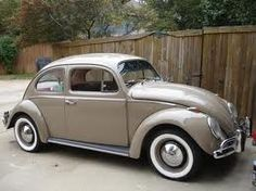 waiting to be loved. Vw Beetles, Car Pictures, Volkswagen, Antique Cars, Vw Bugs, Simile, White Walls, 1960s, Waiting