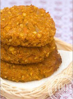 Картофельные котлеты с грецкими орехами