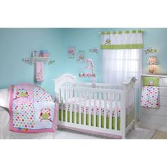 Crib Fashion Bedding > Taggies™ Owl 4-Piece Crib Bedding Set from Buy Buy Baby