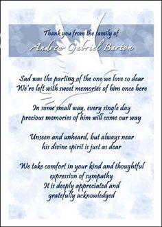 Etiquette condolences