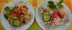 Recept Těstovinový salát s medvědím česnekem Zucchini, Curry, Sushi, Tacos, Mexican, Vegetables, Ethnic Recipes, Food, Mustard