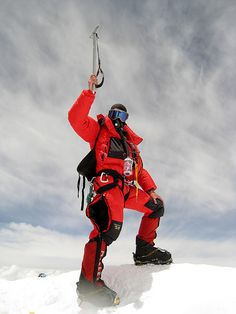 Everest summit | Standing on top of the world, 21st May 2008… | Topper_Harley | Flickr
