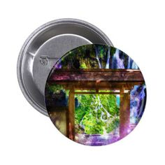Rainbow Universe's Pathway to Paradise Pinback Button