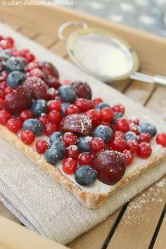 ullatrulla backt und bastelt: #tarte with red #berries from #leckerbakery #recipe
