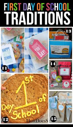 Fun ideas to make the first day of school extra special