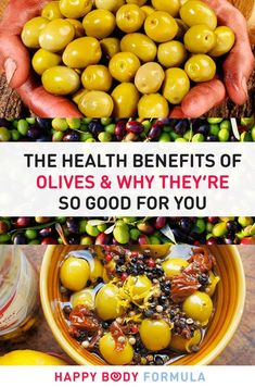Are Olives Healthy? YES! Here is the health benefits of olives and why they're so good for you.