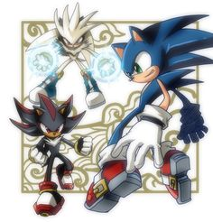 Shadow the Hedgehog riders | DEEN!: Style Influence: Sonic The Hedgehog
