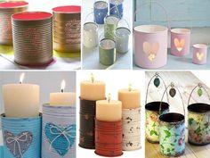 Baby Shawer, Pillar Candles, Recycling, Jar, Crafts, Ideas, Fun Stuff, Valentino, Shower