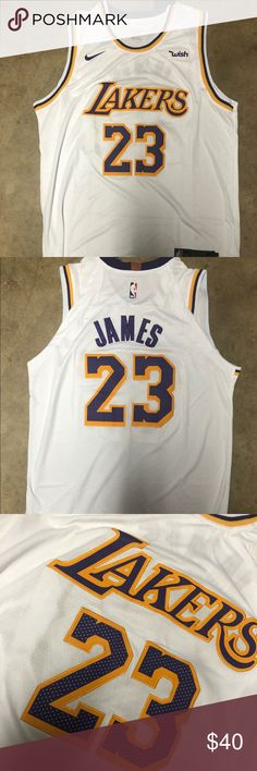 b27a08ac7 LeBron James  23 Lakers White jersey Brand new with tag