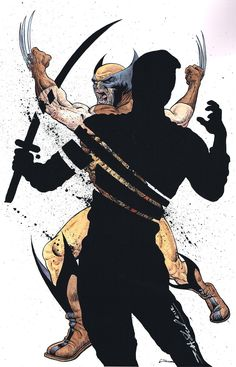 Wolverine ( X-Men ) // Marvel // Art Marvel Wolverine, Logan Wolverine, Marvel Fan, Marvel Heroes, Comic Book Characters, Marvel Characters, Comic Character, Comic Books Art, Book Art