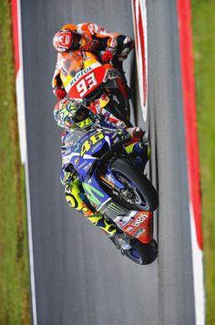 Valentino Rossi & Marc Marquez GP Valencia