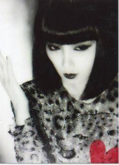 山口小夜子 ファッションモデル 2L版 写真 3枚_画像1