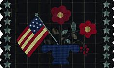 Download Wool Penny Rug free pattern