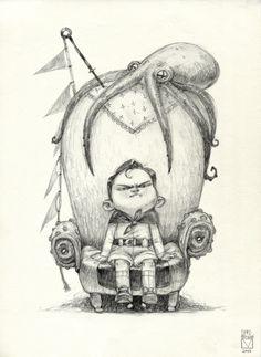 Blad Moran - Sketchtober | 001 october every day sketch